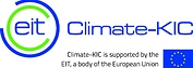 EIT Climate-KIC + EU flag