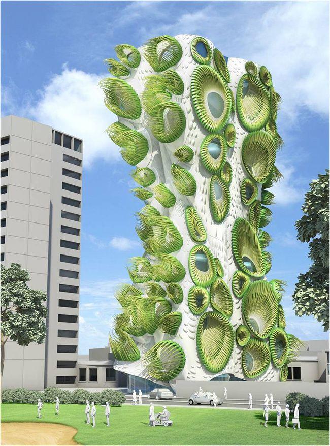 ceb9ab76c89b4962796bd001d1f99607--biomimicry-architecture-cool-architecture